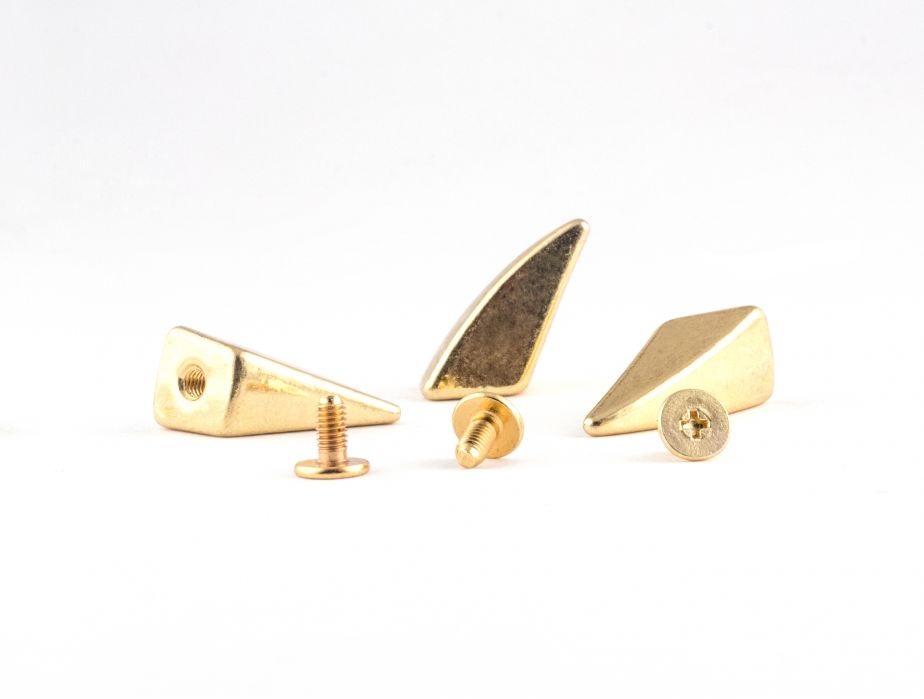 Gold Tiger Claw Stud Spike