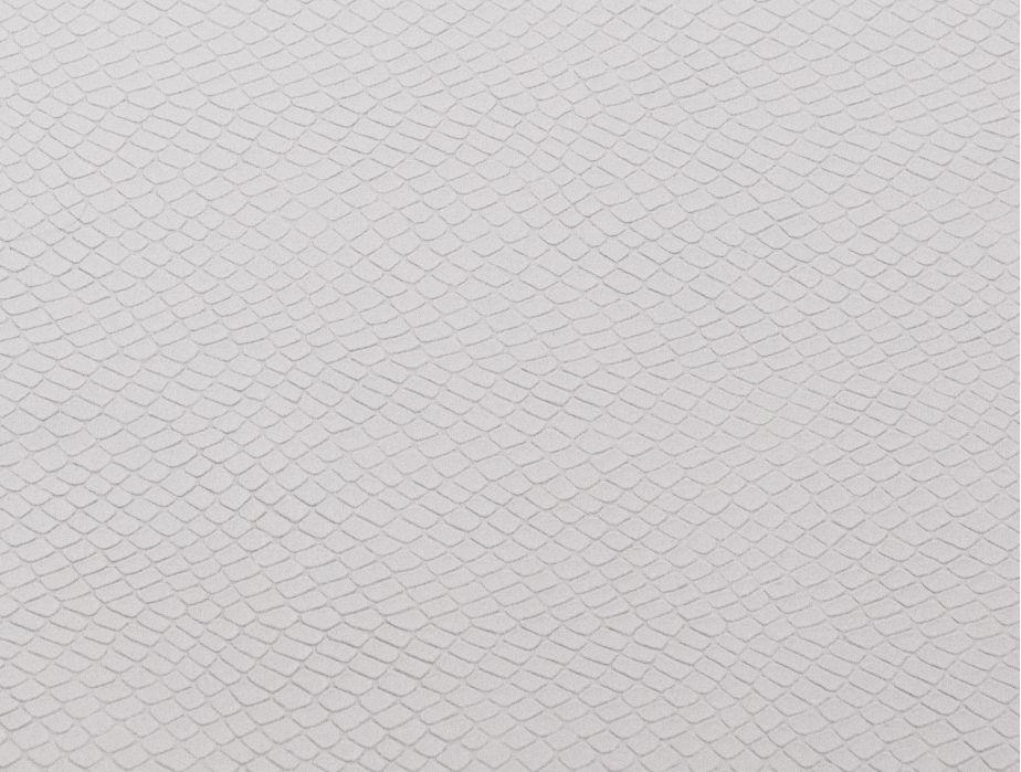 Mjtrends Snakeskin Fabric White