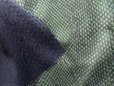 Green stretch faux snakeskin fabric with vinyl P thumbnail image.