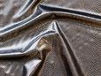 Metallic bronze gold snakeskin reptile print fabric. thumbnail image.