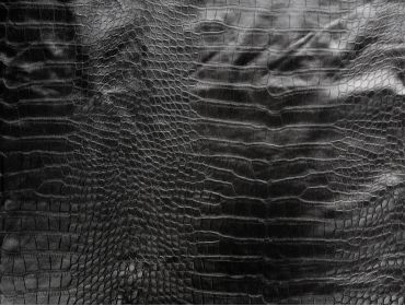 Crocodile faux leather vinyl fabric