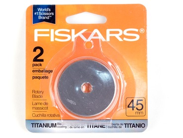 Fiskars 45mm titanium replacement blades.
