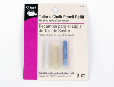 Tailors chalk pencil refill.