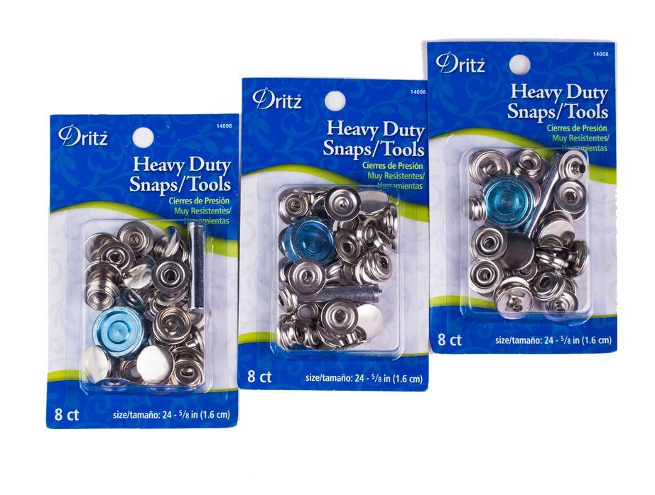 Dritz: Heavy Duty Snaps w/ Tool