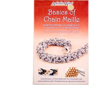 Chain Maille basics instruction book.