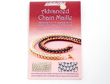 Advanced chain maille weaves booklet.