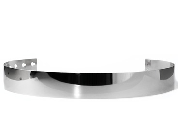 Womens metal silver belt.