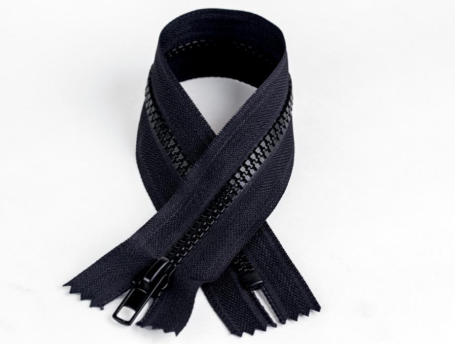 Coats & Clark Sport Separating Zipper 16 Navy - Fabric.com