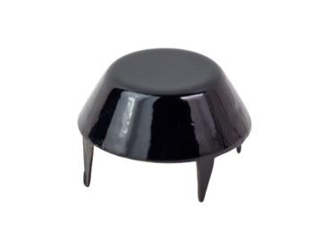 Black mushroom cap stud