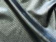 Green - black 4-way stretch imitation snakeskin fabric. thumbnail image.