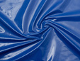 Royal blue vinyl fabric. thumbnail image.