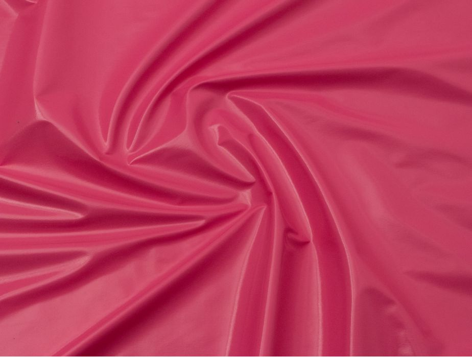 Mjtrends Patent Vinyl Fabric Hot Pink