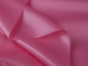 Metallic pink latex sheeting