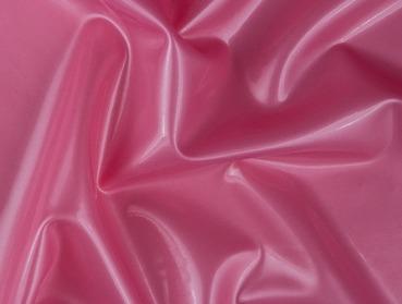Pearlsheen pink latex material.