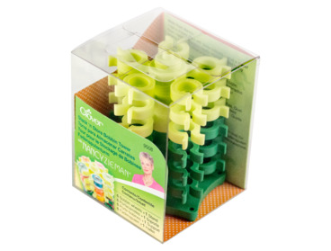 Clover bobbin storage tower.