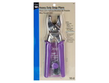 Dritz heavy duty snap plier kit.