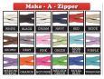 Make a zipper - various colors available. thumbnail image.