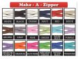 Make a zipper - various colors available. thumbnail image.