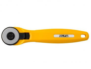 Olfa 28mm quick change rotary cutter.
