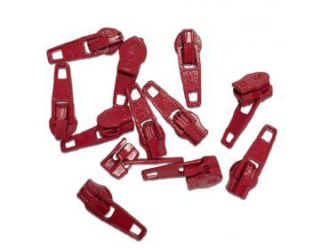 Sullivans red zipper pulls.