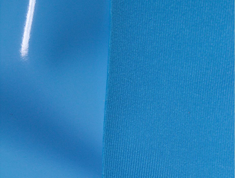 Mjtrends Sky Blue 4 Way Stretch Vinyl Fabric