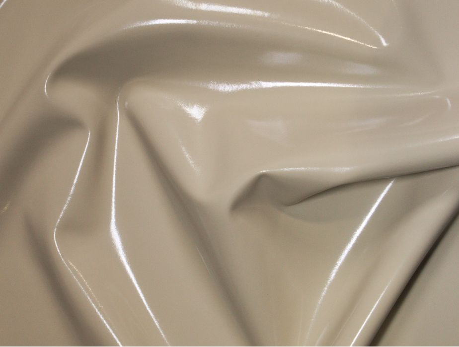 MJTrends: Stretch PVC Fabric: Tan