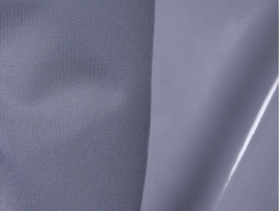 Mjtrends Stretch Pvc Fabric Grey