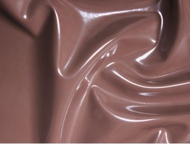 Chocolate brown stretch pvc vinyl fetish fabric