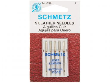 leather sewing needles size 110