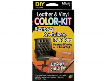 leather and vinyl color kit