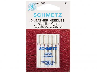 schmetz leather sewing needles size 100 16