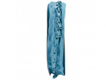 custom length turqoise zippers
