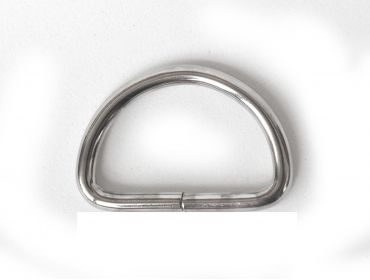 pack of silver d rings
