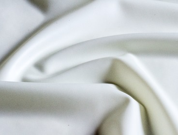 Pearlsheen metallic white latex sheeting