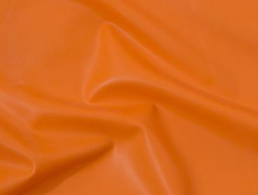 Orange .40mm latex sheeting.