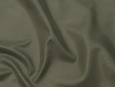 Military green latex sheeting.
