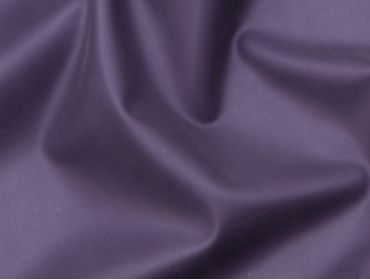 Pearlsheen metallic purple latex rubber fabric.
