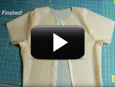 Mens latex shirt video tutorial