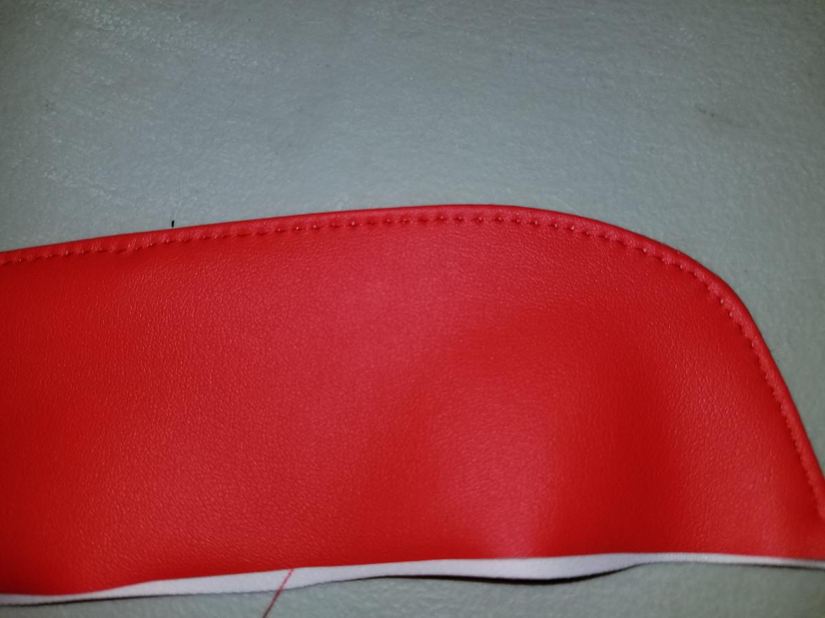 Top-stitch edge of collar.