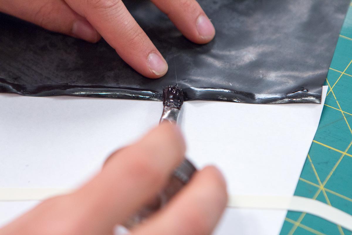 Use a 1/4 inch seam