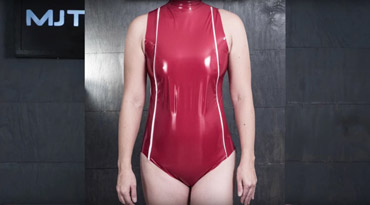 Stretch Leather Bodysuit