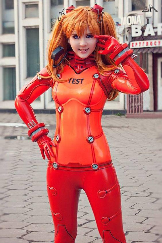 Plugsuit cosplay evangelion