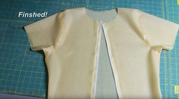 DIY Latex Mens Shirt